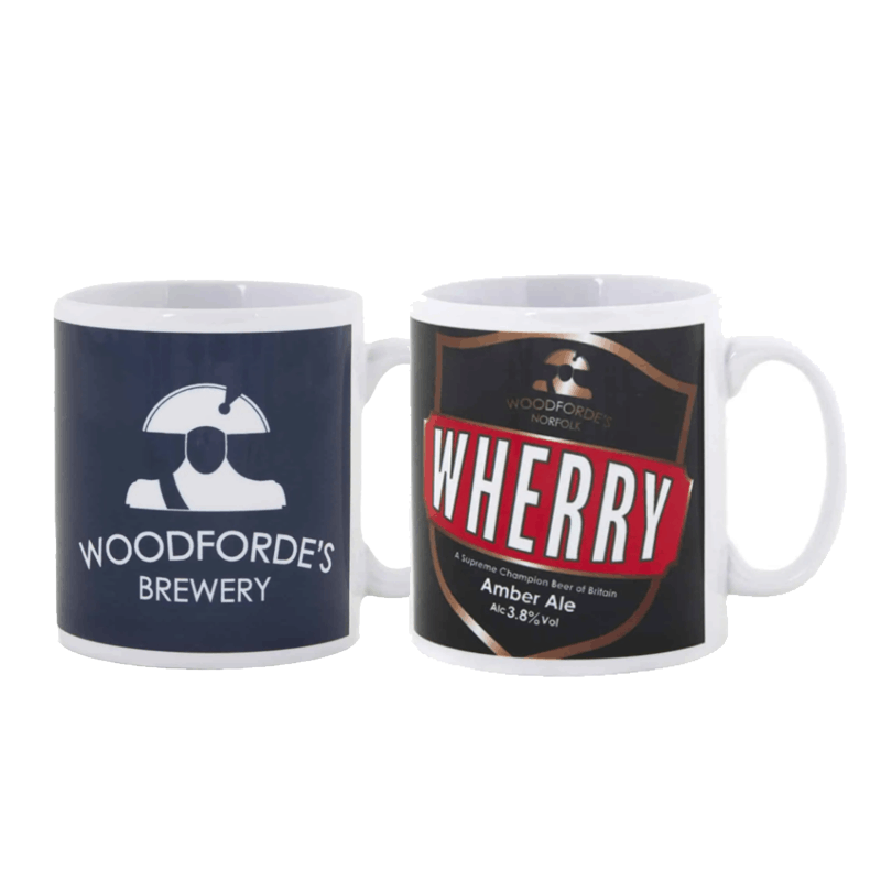 Woodforde & Wherry Mugs - Woodforde's Brewery
