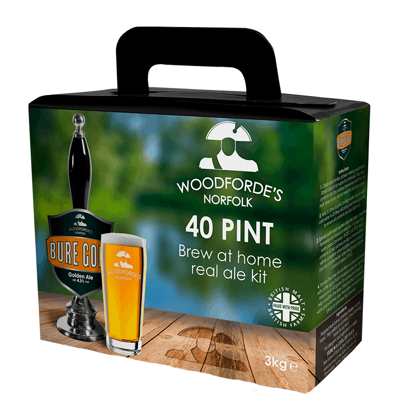Bure Gold Brewing Kit - Woodforde's Brewery