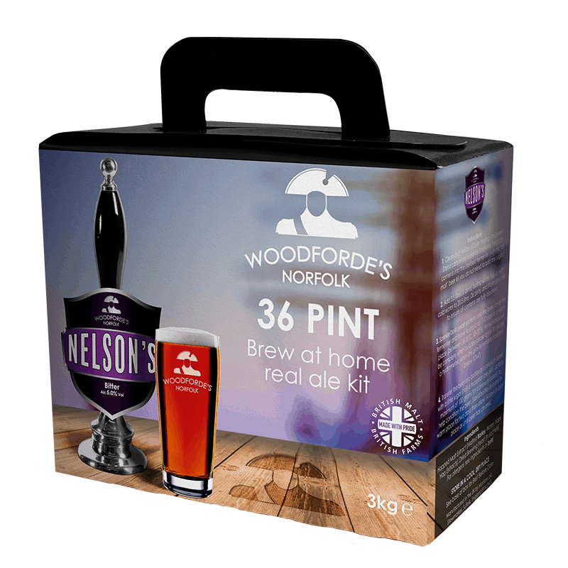 Nelson's Revenge Brewing Kit - Woodforde's Brewery