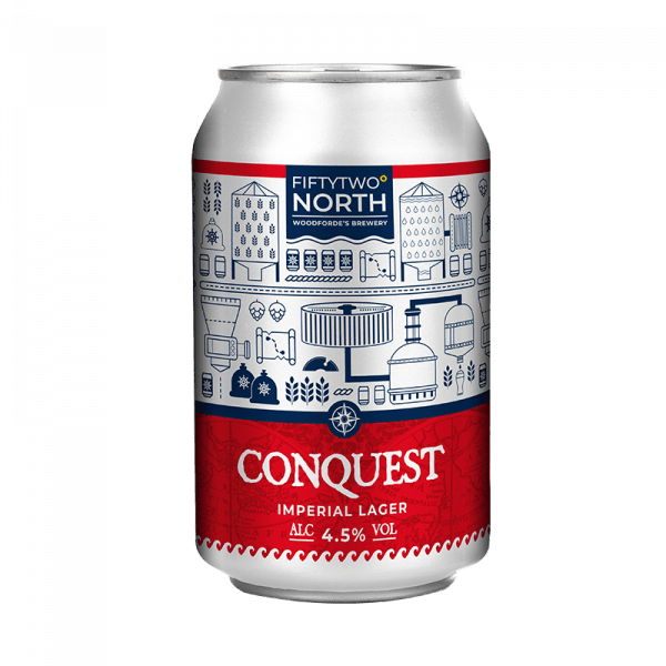 Conquest Can on Woodfordes.com