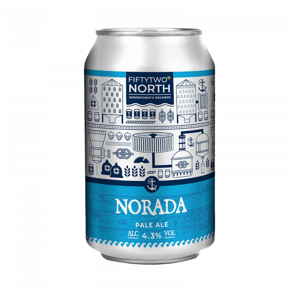 Norada can on Woodfordes.com