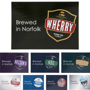 Brands Postcards Set - Woodforde's Brewery