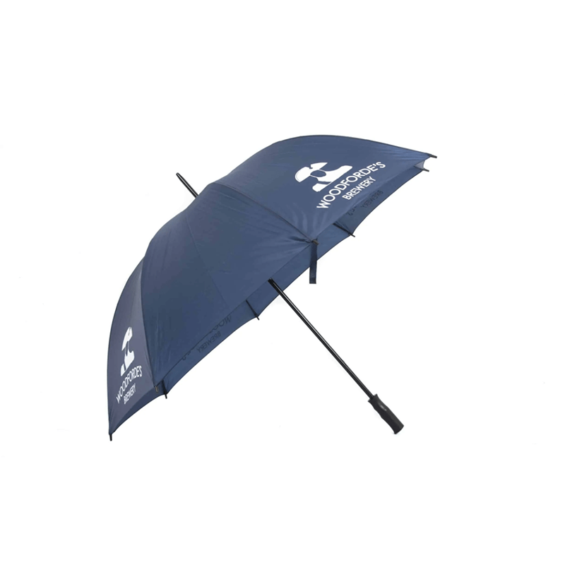 Navy Golf Umbrella - Woodforde's Brewery