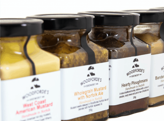 Mustards on Woodfordes.com