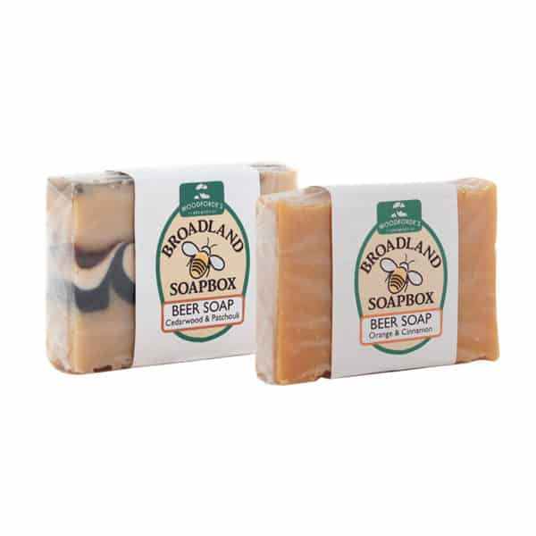Beer Soap on Woodfordes.com