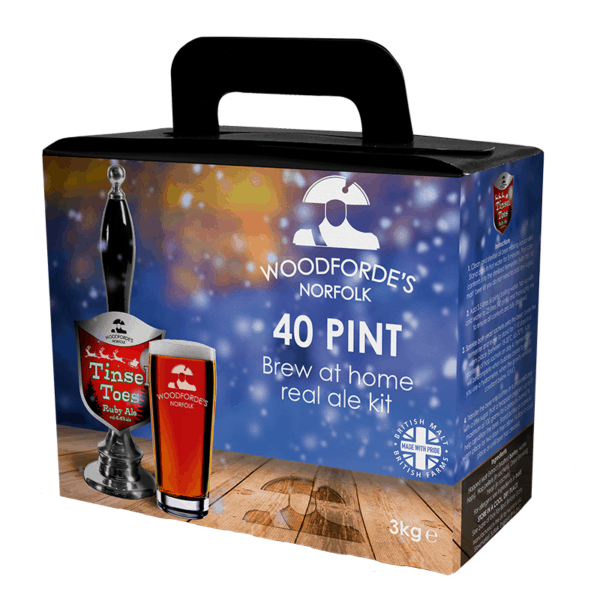 Tinsel Toes Brewing Kit - Woodforde's Brewery