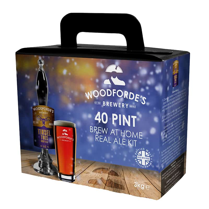 Tinsel Toes Brewing Kit on Woodfordes.com