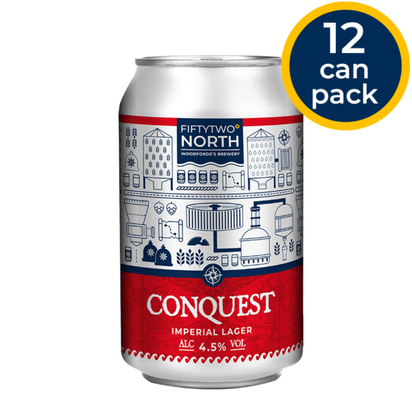 Conquest Cans | Woodforde's Brewery