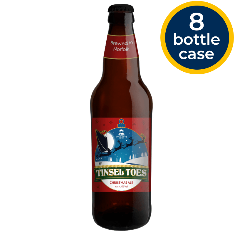 Tinsel Toes Bottles | Woodforde's Brewery