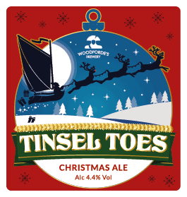 Tinsel Toes at Woodforde's Brewery
