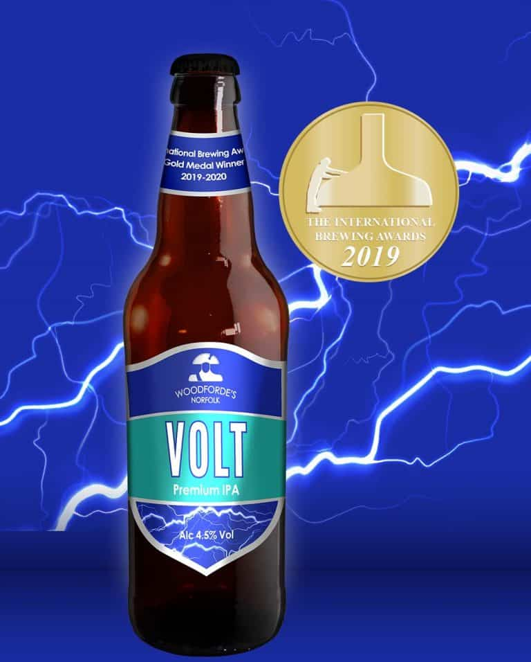 Volt Award Winning at Woodfordes.com