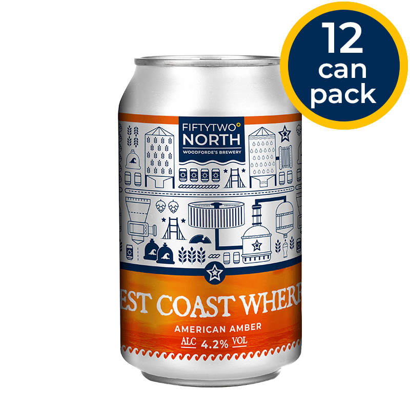 West Coast Wherry Cans | Woodforde's Brewery