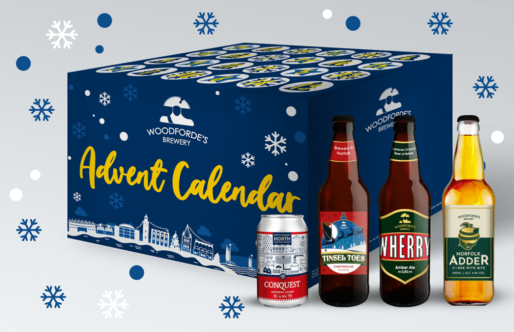 Woodforde's Beer Advent Calendar 2020 on Woodfordes.com