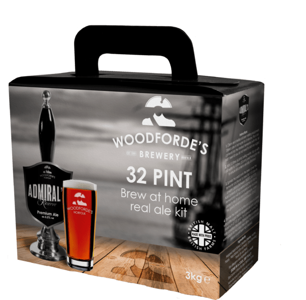 Admiral's Brewing Kit at Woodforde's Brewery