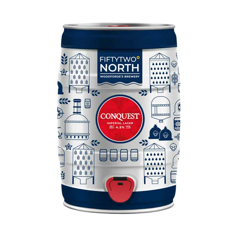 Conquest 5L mini keg | Woodforde's Brewery