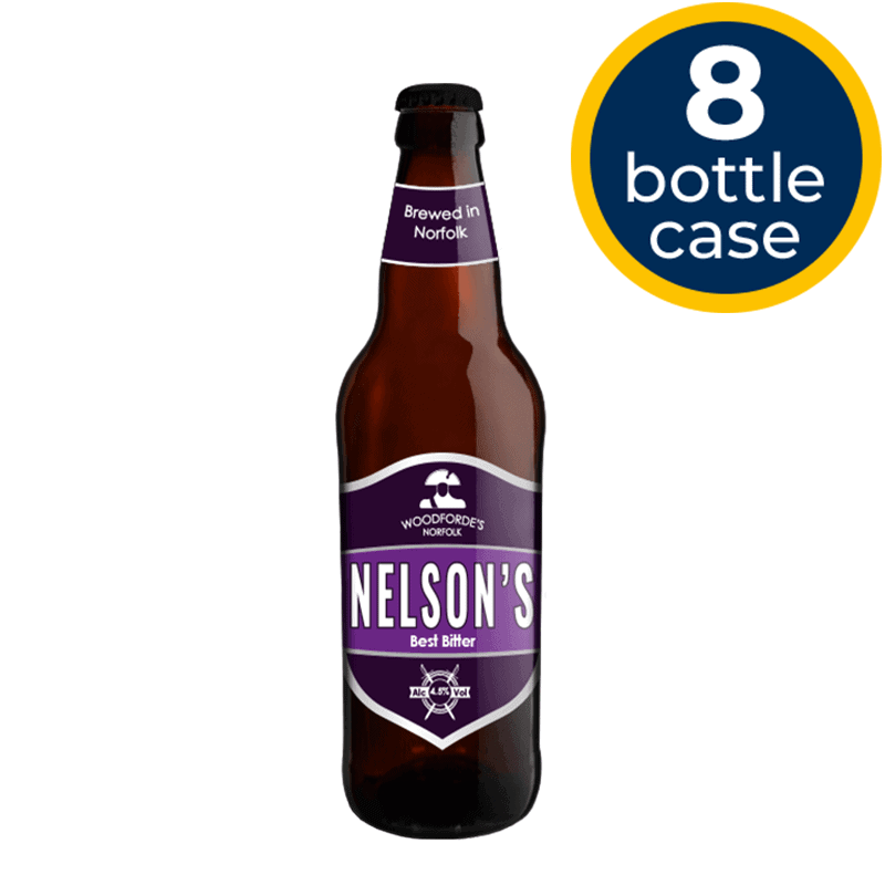Nelson's 8 Bottle Case | Woodforde's Brewery