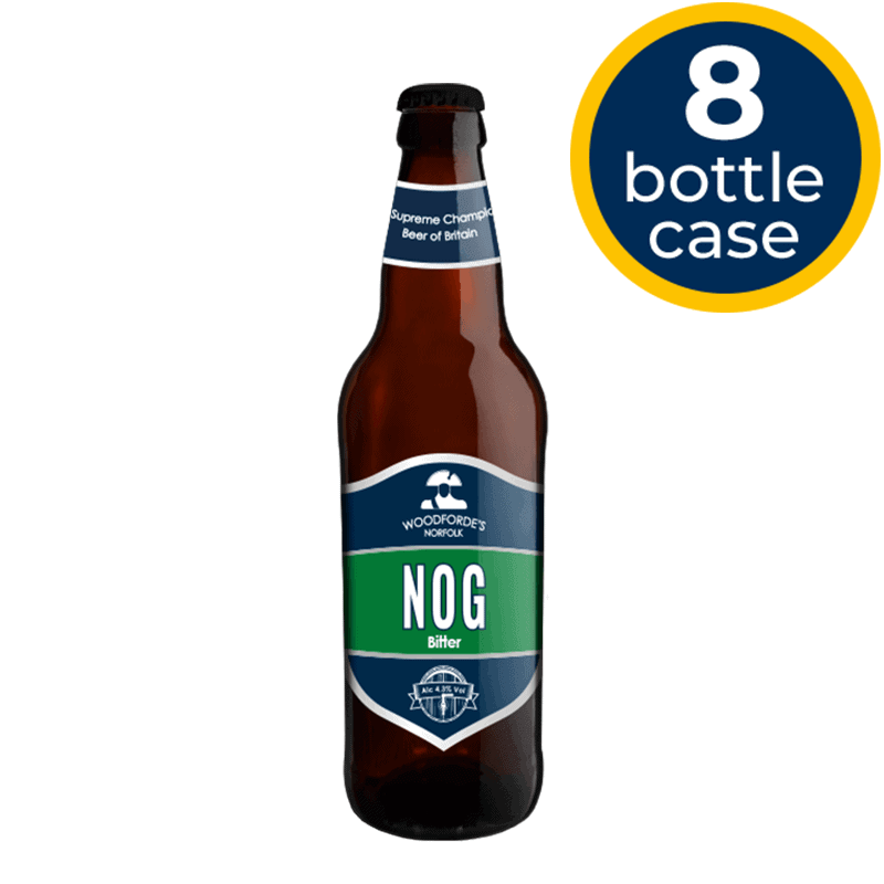 Nog 8 Bottle Case | Woodforde's Brewery