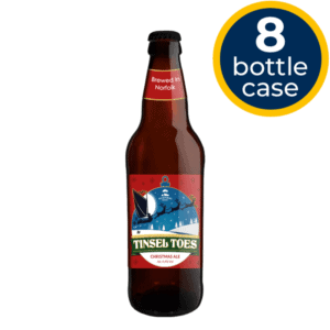 Tinsel Toes 8 Bottle Case   Woodforde's Brewery