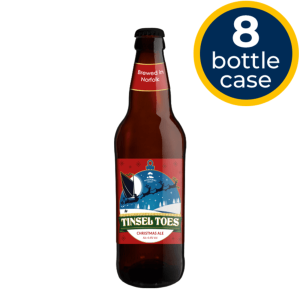 Tinsel Toes 8 Bottle Case | Woodforde's Brewery