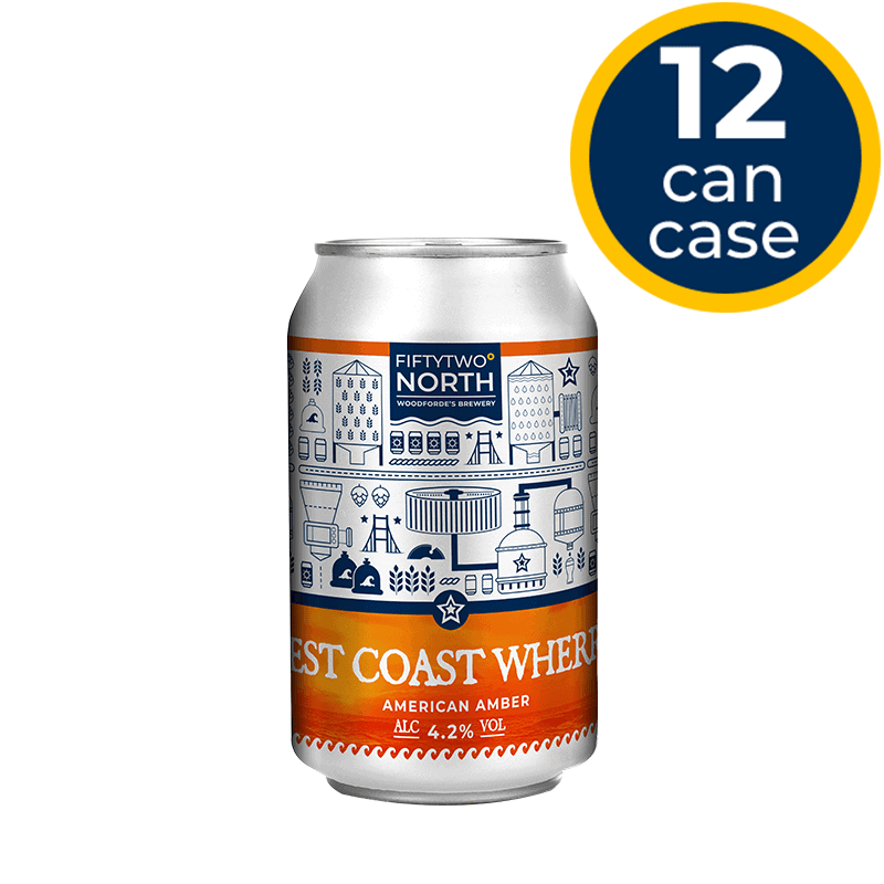 West Coast Wherry 12 Can Case | Woodforde's Brewery