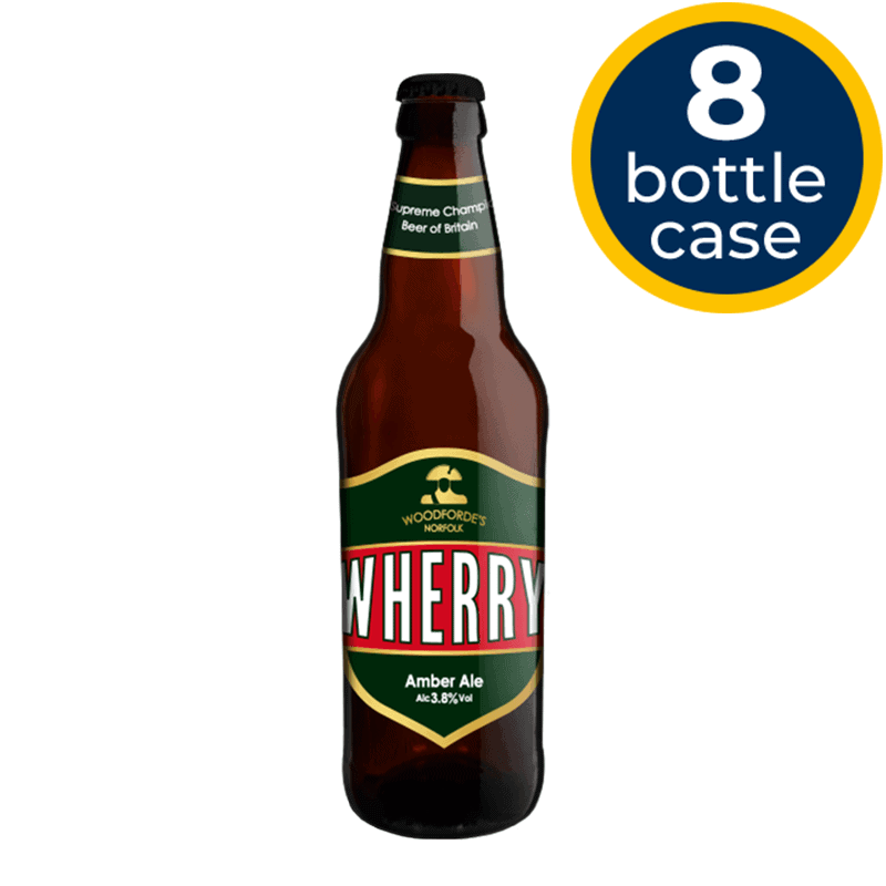 Wherry 8 Bottle Case | Woodforde's Brewery