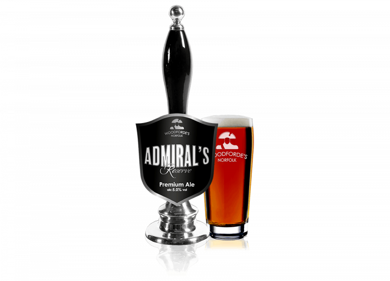 Admiral's Beer on Woodfordes.com