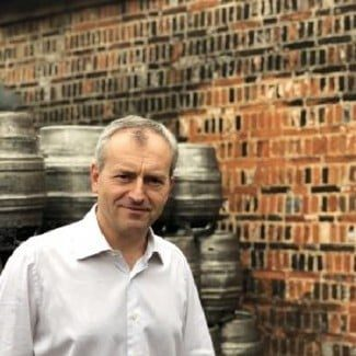 Mike at Woodforde's Brewery