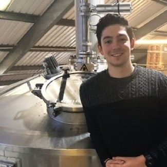 Reece at Woodforde's Brewery