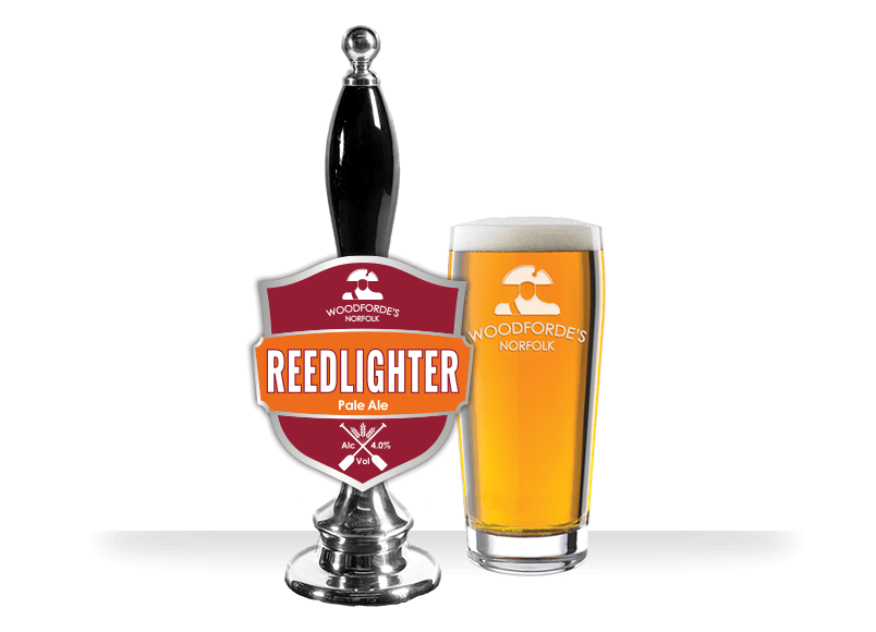 Reedlighter at Woodforde's Brewery