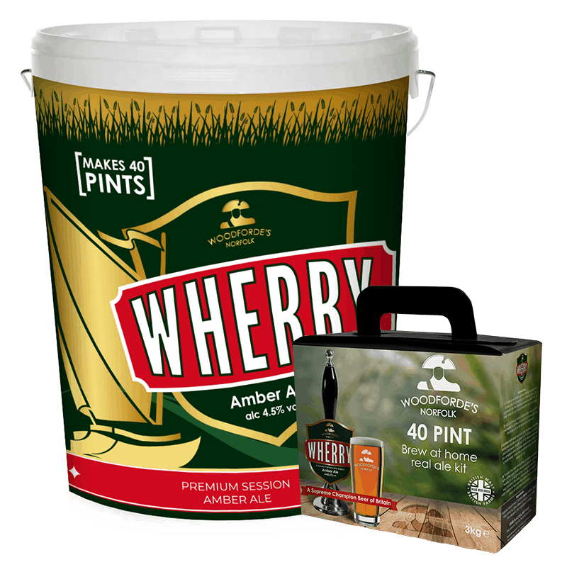 Starter Brewing Kit Wherry - Woodforde's Brewery