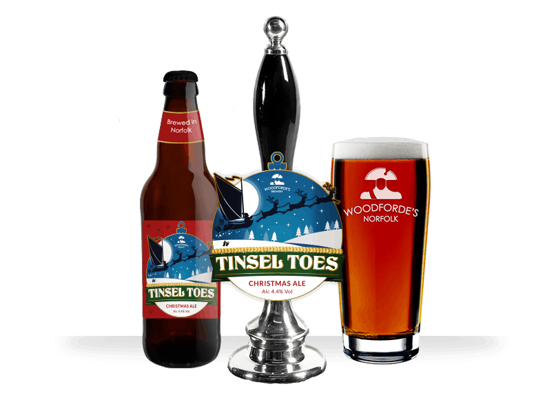 Tinsel Toes Beer on Woodfordes.com