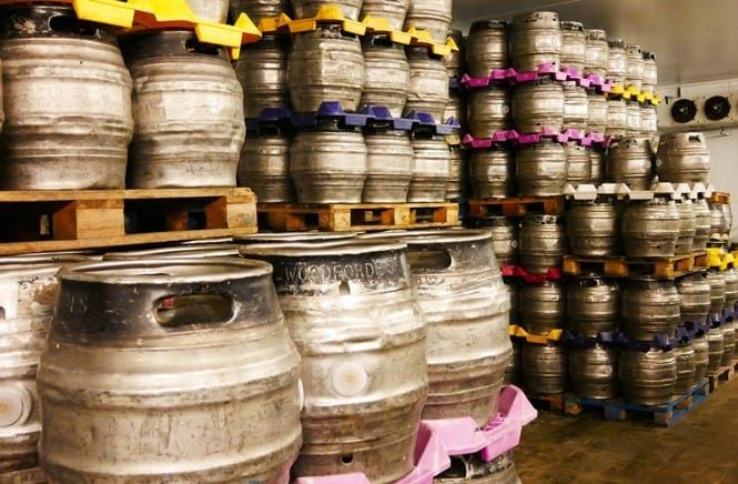 Woodfordes-Brewery-Tour-Barrel-Stock